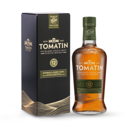 TOMATIN 12  ANS Single Malt Scotch Whisky 70 cl 43 °