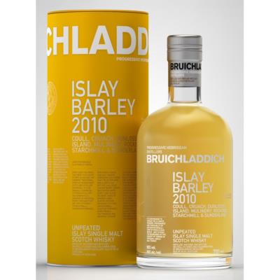 BRUICHLADDICH ISLAY BARLEY 2010 ISLAY SINGLE MALT SCOTCH WHISKY 50 ° 70 CL