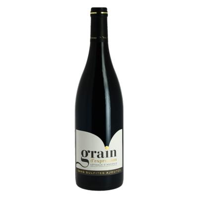 GRAINS D EXCEPTION COTEAUX D'ANCENIS ROUGE 75 CL SANS SULFITE