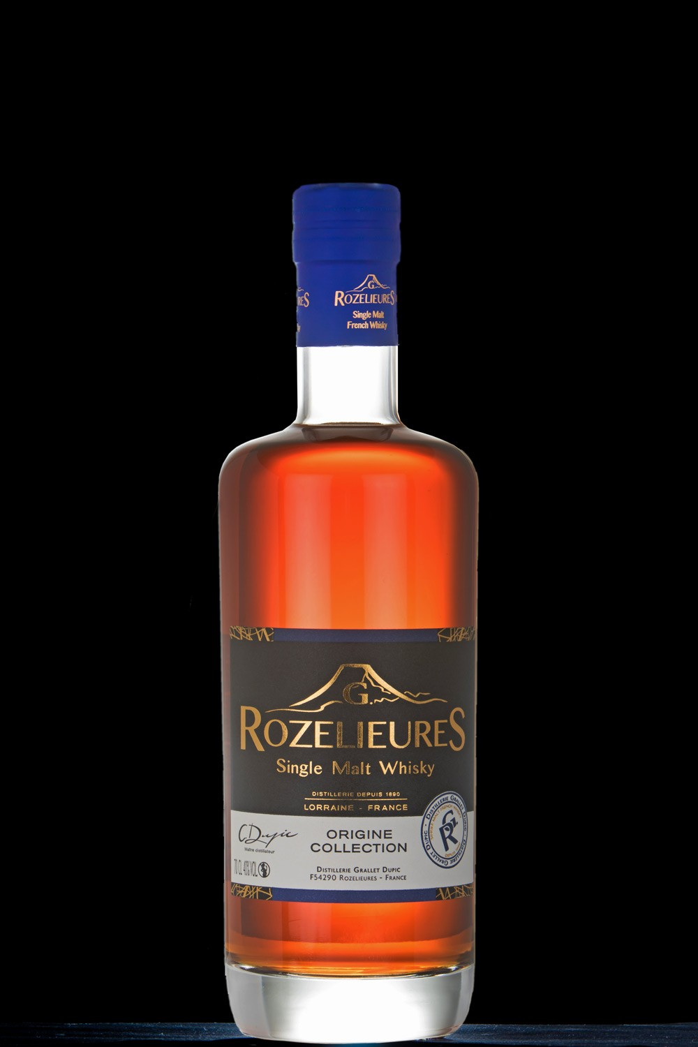 WHISKY SINGLE MALT DE LORRAINE ROZELIEURES ORIGINE 70 CL 40 °