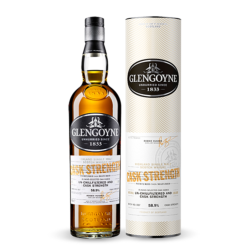 GLENGOYNE CASK STRENGHT  HIGHLAND SINGLE MALT WHISKY
