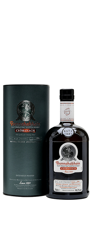 BUNNAHABHAIN CEOBANACH ISLAY SINGLE MALT SCOTCH WHISKY 46°3 70 CL