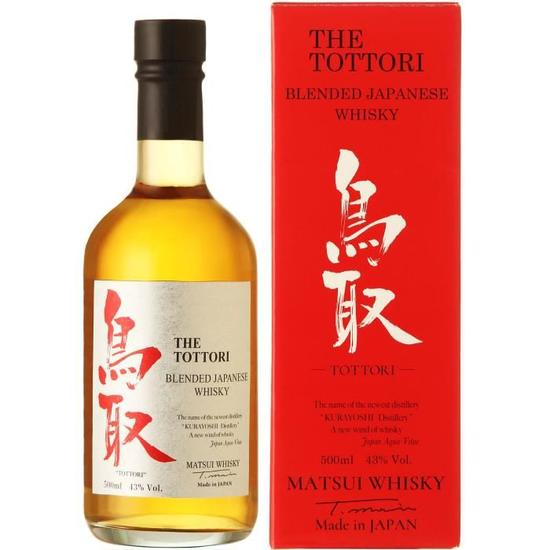 THE TOTTORI BLENDED JAPANESE WHISKY 50 CL 43°